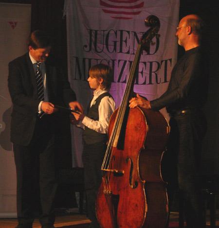 Jugend musiziert – Preisträger spielen im Schloss vor Husum