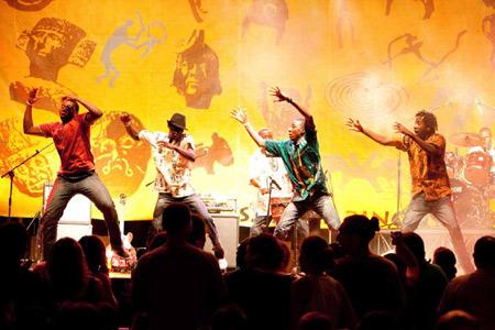 Top-Konzert im Husumer Speicher: Mokoomba