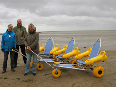 Mit dem Rollstuhl durch das Wattenmeer – geht doch!