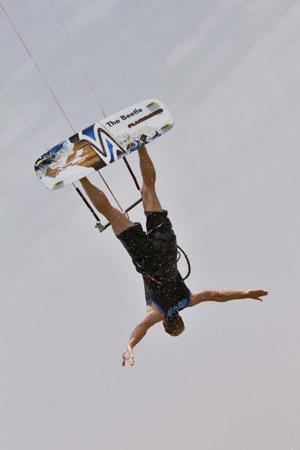 St. Peter-Ording ist Austragungsort der Airstyle World Championships