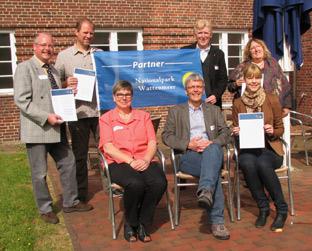 Wattenmeer – Fünf neue Nationalpark-Partner ausgezeichnet