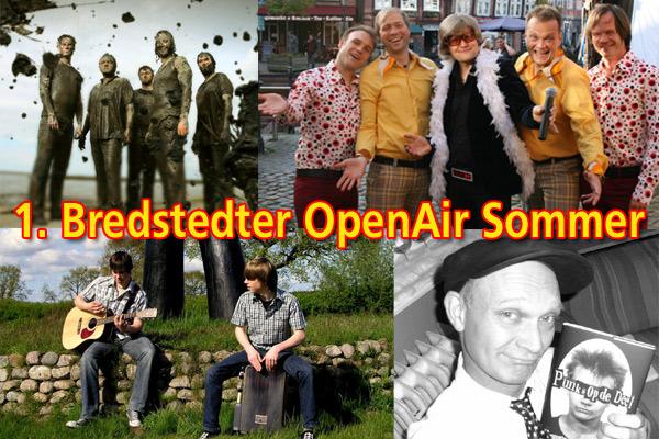 Bredstedt erwacht! 1. Bredstedter OpenAir-Sommer  – Programm