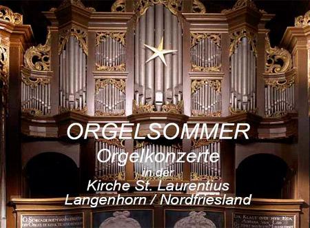 Der Langenhorner Orgelsommer 2012 – Programm und Termine