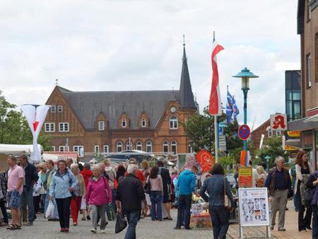 Fotogalerie von den Bredstedter Markttagen 2012