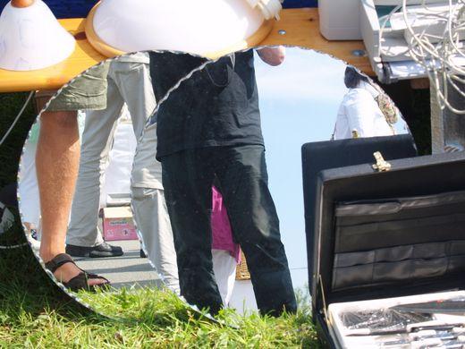 Am 19. August 2012: Breklumer Flohmarkt für jedermann