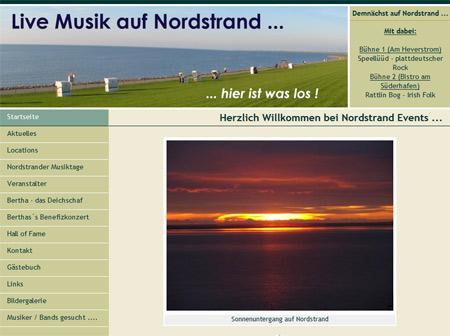 Nordstrander Musiktage 2012 – die nächsten Tage
