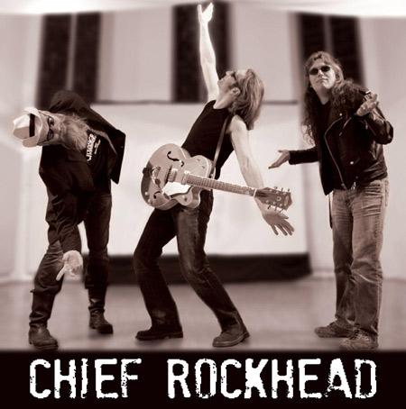 Rockn Roll Extraklasse im Lütt Matten Garding:  Chief Rockhead