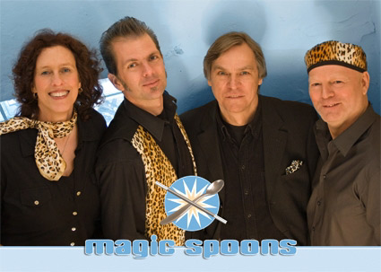 Blues, Rock und Evergreens mit Magic Spoons im Lütt Matten Garding