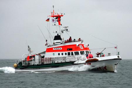 Tönninger Krabbenkutter vor Sylt aus Seenot gerettet