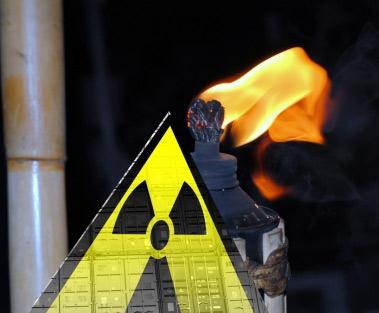 Radioaktiv belastete Gartenfackeln aus Indien nach Sylt importiert