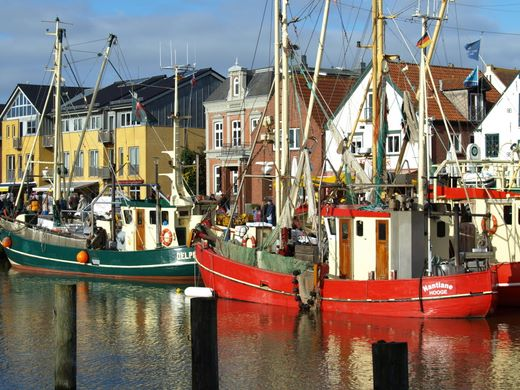 Zwei Tage Stadtfest bei den Husumer Krabbentagen 2012