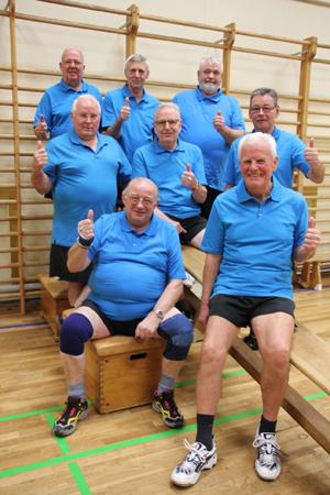Neue Trikots und Sporthosen für die Männersportgruppen des TSV Langenhorn