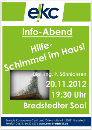 Hilfe – Schimmel im Haus! – Vortrag in Bredstedt