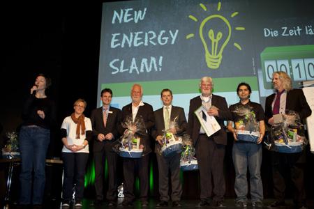 New Energy Slam geht in die zweite Runde  – Wissenschaftler und Kreative für unterhaltsamen Vortragswettbewerb gesucht