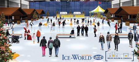 Winter 2013/14 – Die erste Husumer Eiszeit in der Messehalle