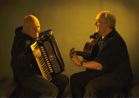 Speicher ganz virtuos: Manfred Leuchter & Ian Melrose
