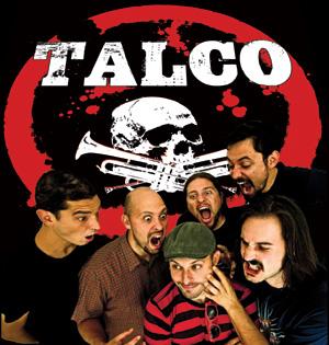 Italienische Band TALCO plus ein paar Engländer live im Husumer Speicher