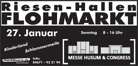 Messe Husum startet ins Flohmarktjahr 2013