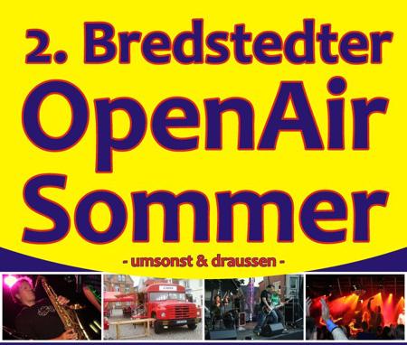 Musiker und Künstler für den 2. Bredstedter OpenAir Sommer gesucht