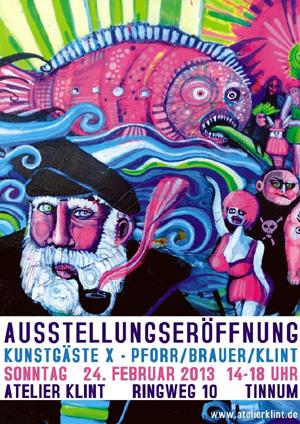Zum zehnten Mal Kunstgäste im Atelier Klint auf Sylt