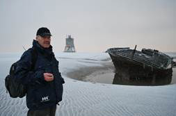 Süderoogsand gibt alte Schiffswracks frei