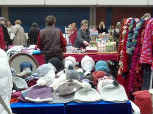 Und wieder einmal Riesen Hallenflohmarkt in Husum in der Messehalle