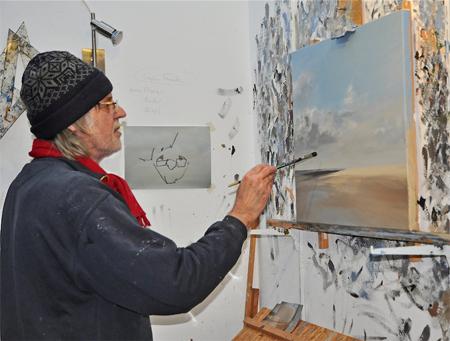 Neue Ausstellung von Ulf Petermann im Haus Peters in Tetenbüll