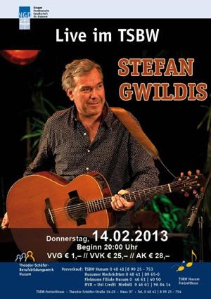 Stefan Gwildis im TSBW Husum live