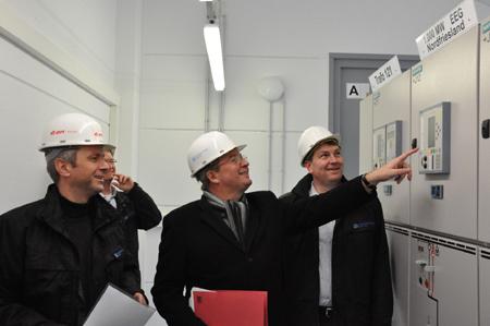 1.000 Megawatt-Marke im Grünen Kraftwerk Nordfriesland geknackt