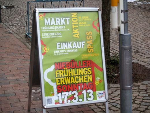 Fotogalerie vom leider recht kühlen Frühlingserwachen in Niebüll