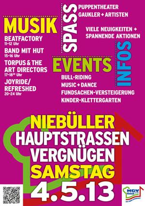 Torpus & the Art Directors beim Niebüller Hauptstrassenvergnügen 2013