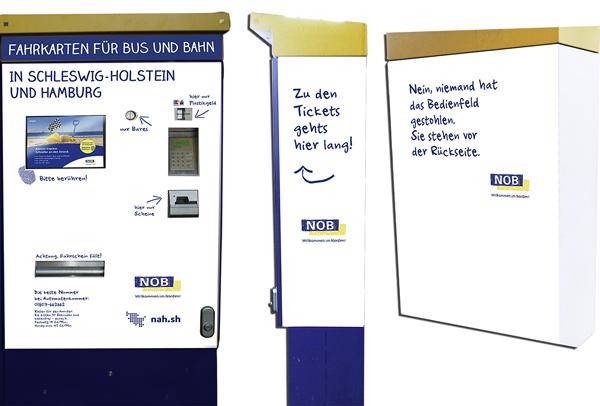 Frisch & Frech – Neue Fahrkartenautomaten an der NOB-Strecke Hamburg – Westerland