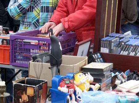 Pfingstsonntag großer Flohmarkt auf dem Bredstedter Marktplatz