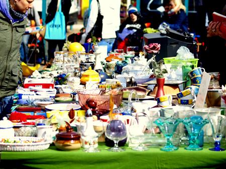 Flohmarkt für jedermann in Breklum