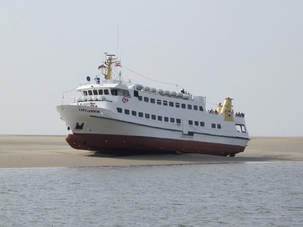 Fotos: Bergung der 136 Passagiere vor Büsum vom Ausflugsschiff