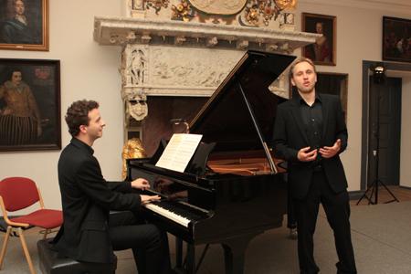 Schloss vor Husum 13. Meisterkurs für Liedgestaltung mit Charles Spencer und Ulf Bästlein