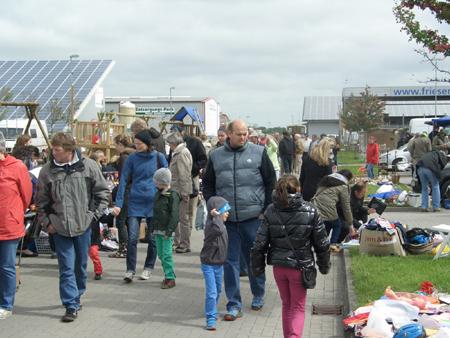 Flohmarkt – Stöbern und Feilschen beim Friesencenter Niebüll