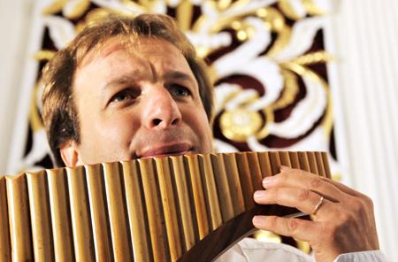 Konzert für Panflöte und Orgel in Tönning