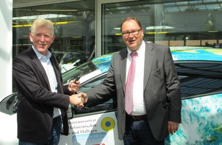 Nationalparkverwaltung fährt jetzt umweltfreundlichen Honda