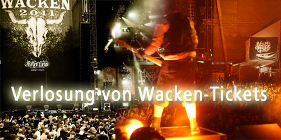 Aktion! Tickets für das Wacken Open Air zu gewinnen