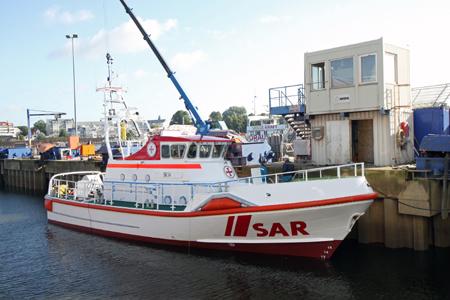 Neuer Seenotkreuzer für List auf Sylt