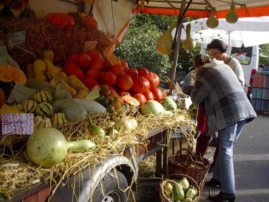 Über 70 Aussteller beim Schwabstedter Bauernmarkt 2013