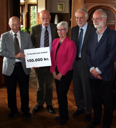 Nordfriisk Instituut erhielt den Ehrenpreis des Slesvigsk Samfund Fonds
