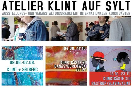 Orkanfahrt und Enfants Terribles im Atelier Klint auf Sylt