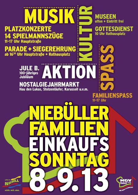 Sehr musikalisch: Der Niebüller Familien Einkaufs Sonntag