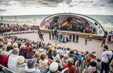 149 Starter aus 34 Nationen eröffnen  GP Joule Windsurf World Cup Sylt