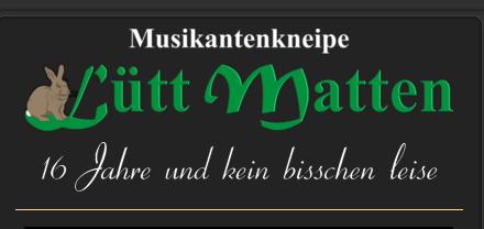 Octopus Garden Band und Elbrock live auf der Bühne der Musikantenkneipe Lütt Matten in Garding