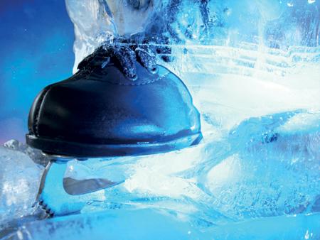 Das Programm der neuen Eiszeit Eislaufbahn in Husum