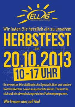 ELLAS feiert in Bredstedt das Herbstfest mit schmackhaften Leckereien