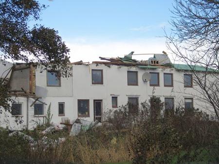 Bilder vom Orkan Christian aus dem Sönke-Nissen-Koog und Stollberg